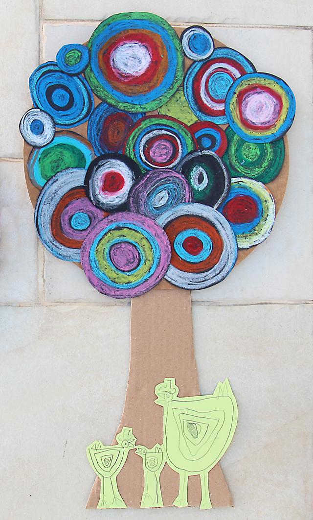 Tu B'Shevat Spring Tree Kid's Craft