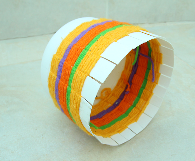 Woven Recycled Bleach Bottle Basket How To