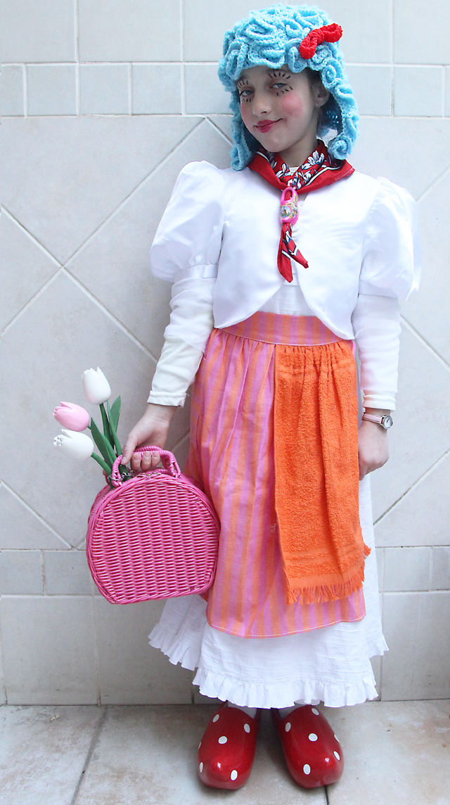 Purim Dutch Girl Costume
