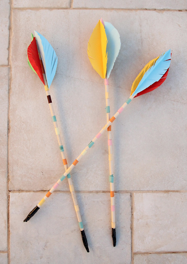 Lag B'omer Kids Bow and Arrow craft