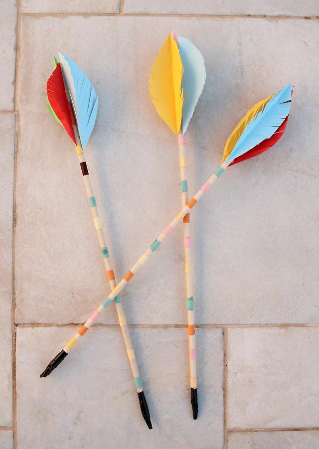 Lag B'omer Kids Bow and Arrow craft