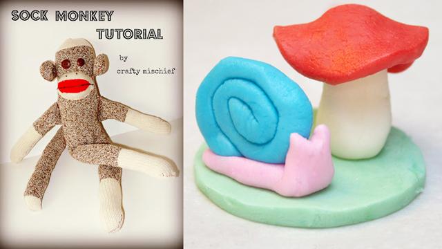 Sock monkey tutorial,sculptable frosting