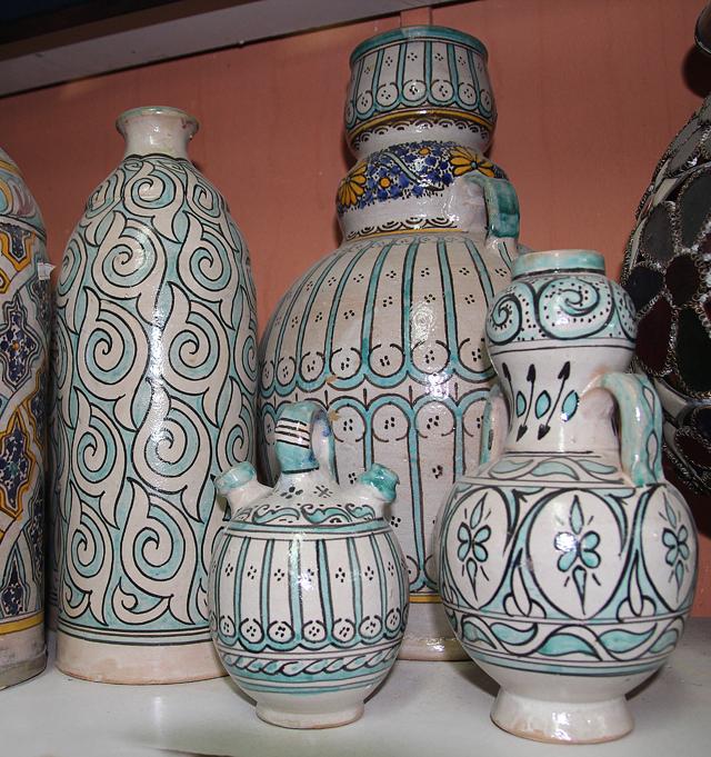 Moroccan Pottery Aqua