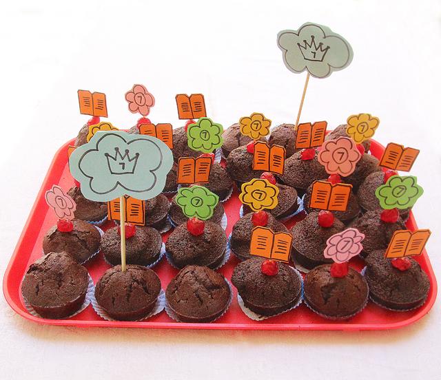 Birthday Cupcakes For Shavuos
