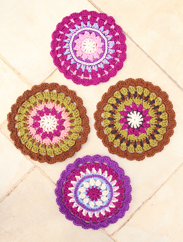 Crochet Medallion Potholder
