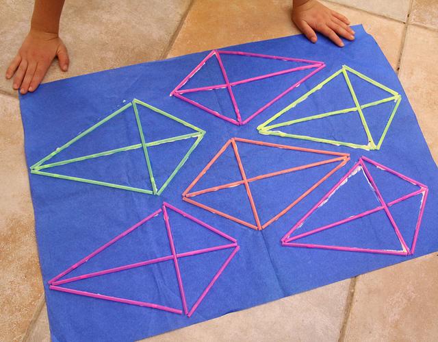 Kite Making with straws full sheet