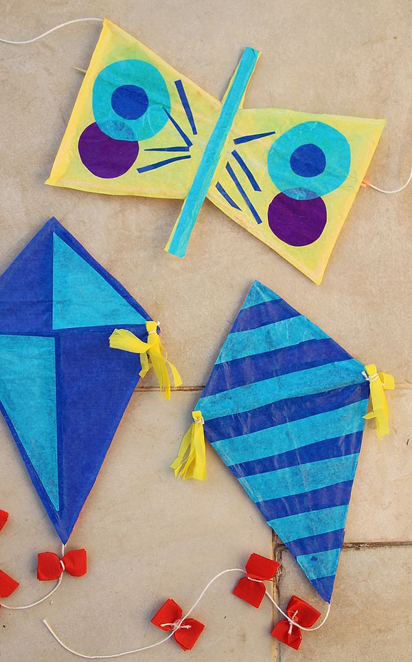 Butterfly kite kid 39 s craft with straws creative jewish mom for Kite craft for kids