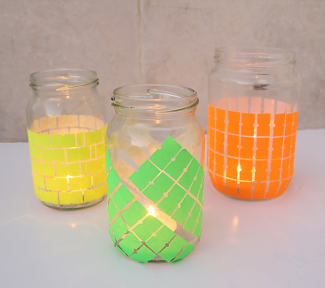 Price Tag Sticker Candle Jars 2