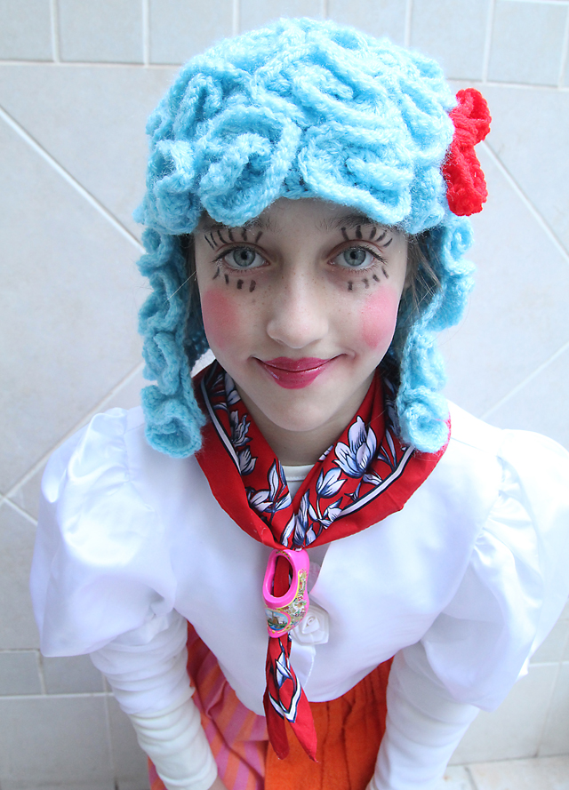 Purim Dutch Girl Face