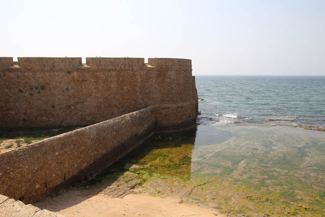 Akko old city wall bunker
