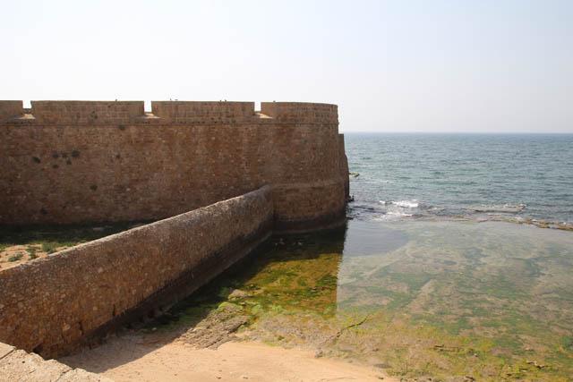 Akko old city wall bunker