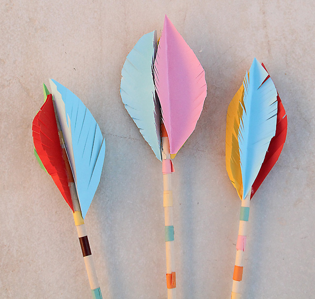 Lag B'Omer Arrow Heads