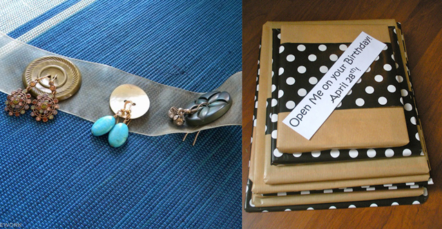 Earring holder,book a month gift