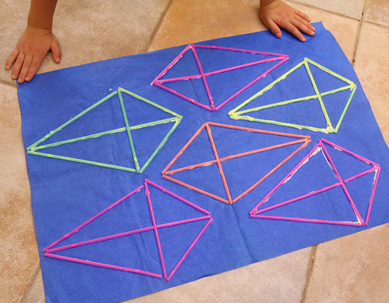 Kite Making with straws full sheet 550
