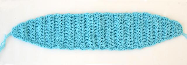 Crocheted Ear Warmer Base