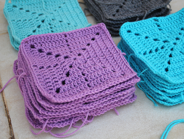 Simple Filet Crochet Starburst Blanket In The Works Creative