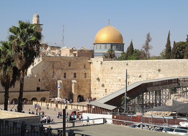 Jerusalem Old City Kotel Wailing Wall