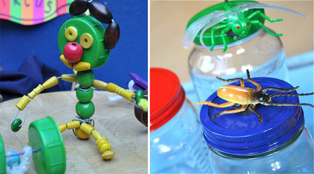 Magnetic Bug Jars, Calder Circus Craft