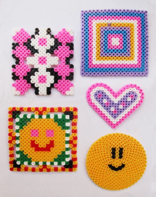 Hama Bead Geometrics —Perfect Lazy Summer Day Craft! - creative ...