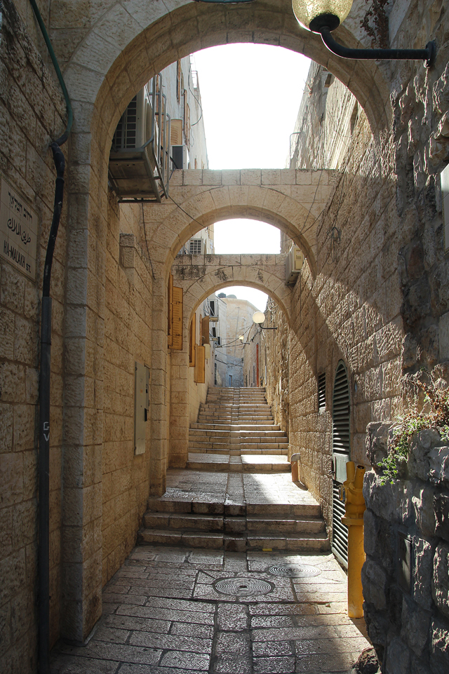 Jerusalem Old City New alley