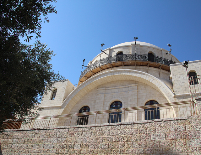 Jerusalem Old City Hurva Synagogue