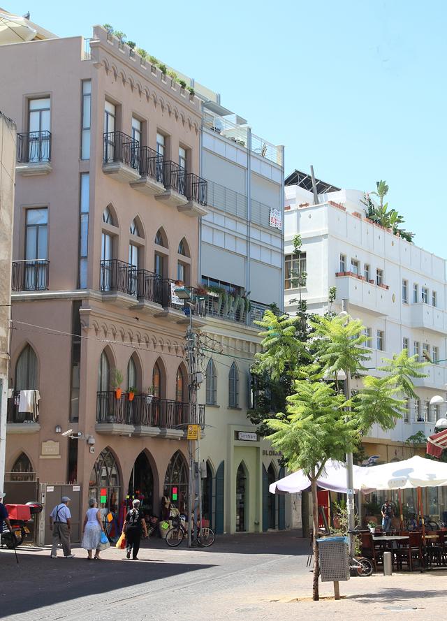 Nachalat Benyamin architecture