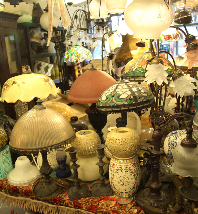 Yaffo Flea Market Lighting