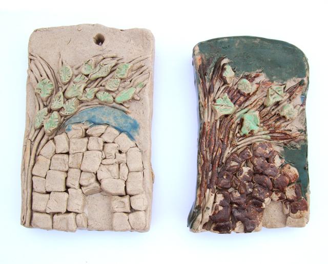 Ceramic Kever Rachel Wall Plaques