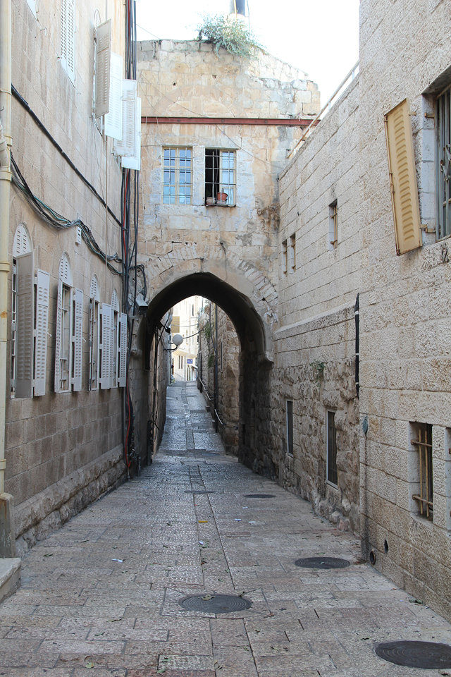 Jerusalem Old City alley