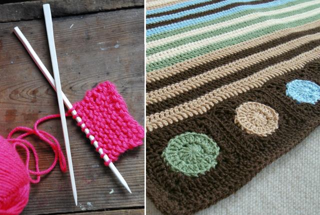 Chop stick knitting needles,baby blanket