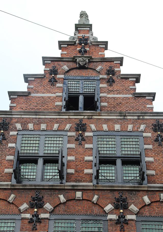 Haarlem, Brick Dutch Architecture