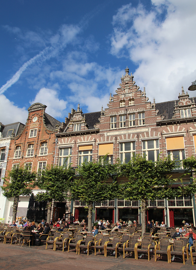 Haarlem The Netherlands Town Square