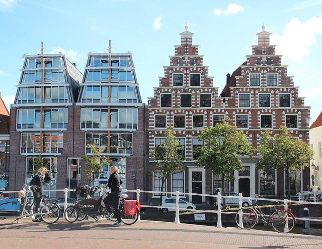 Haarlem the netherlands architecture old and new