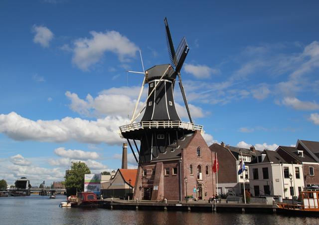 Haarlem holland dutch windmill