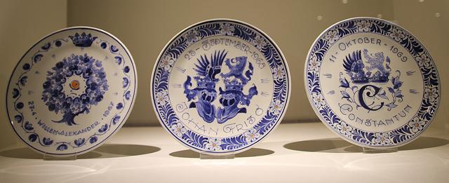 Delft Museum Commemorative Plates
