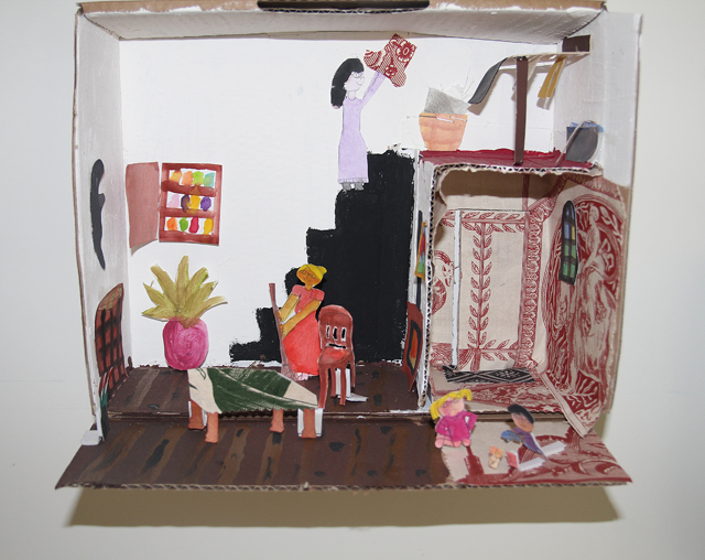 Diorama kid's craft 4