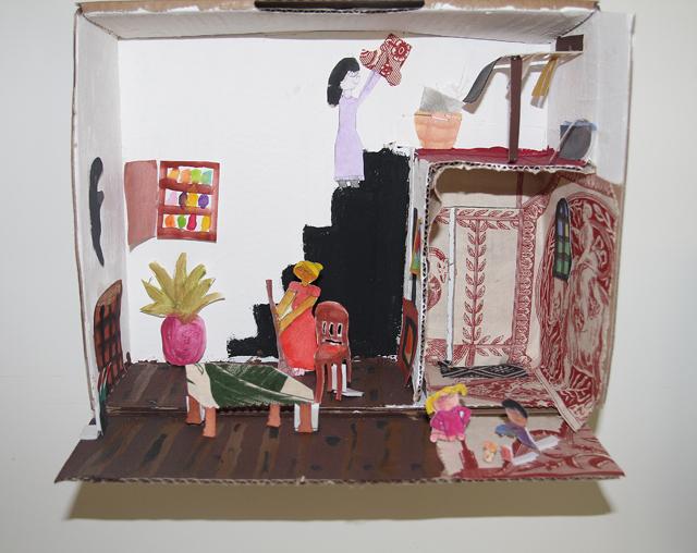 Diorama kid's craft 4