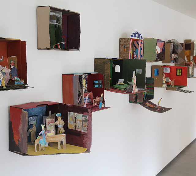 Diorama kid's craft display