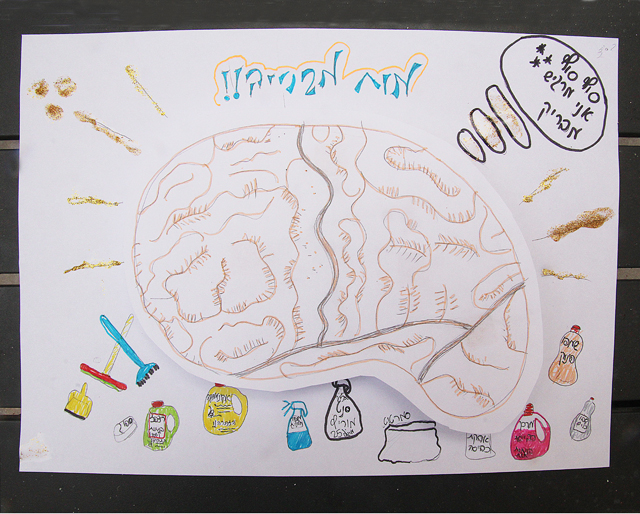 Brain Illustration for kids