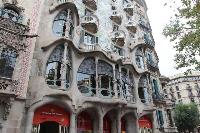 Barcelona Passeig de gracia casa batilo