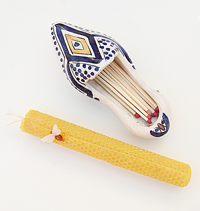 Havdalah candle craft for kids