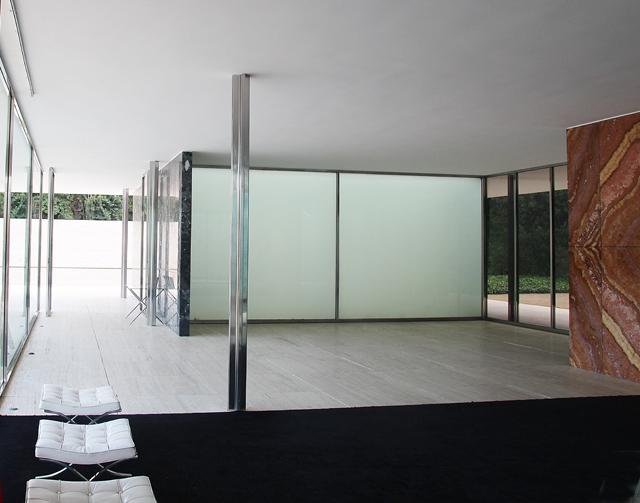 Barcelona Mies Van Der Rohe Pavillion