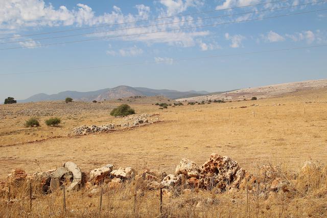 Israel, Galil,view from Sade Eliezer2