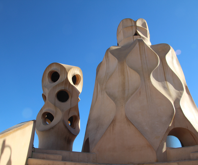 Casa Mila Roof Sculpture