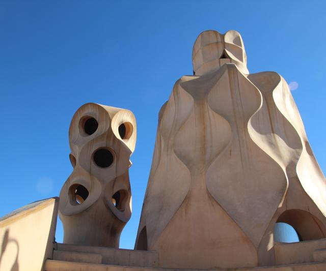Casa Mila Roof Sculpture