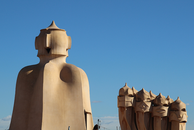 Casa Mila Roof Sculptures