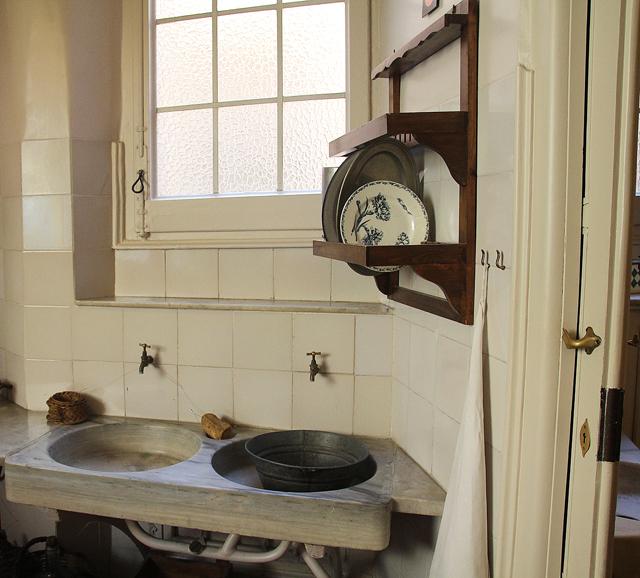 Casa Mila Apartment Kitchen sinks