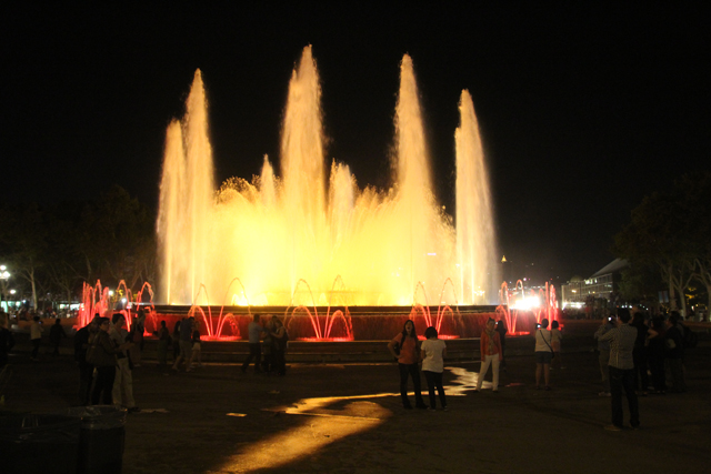 Barcelona Magic Fountain 7