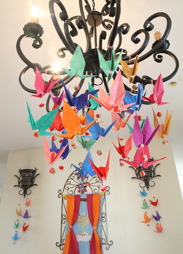 Origami Crane Birthday Decorations