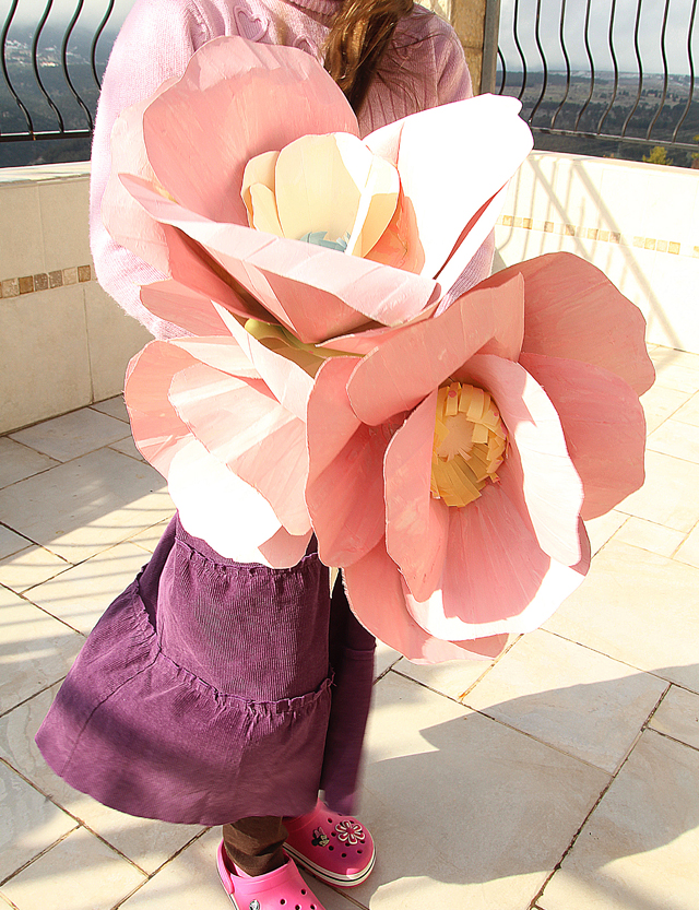 Giant Paper Cherry Blossom Flowers
